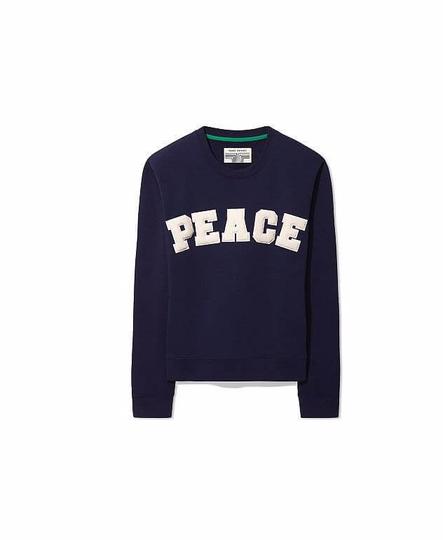 Peace destroyed sweatshirt