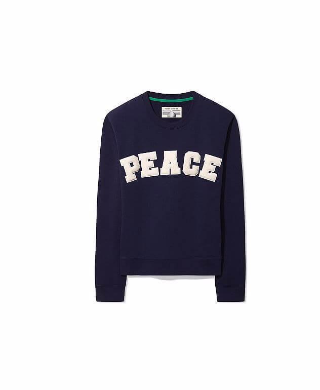 Peace destroyed sweatshirt