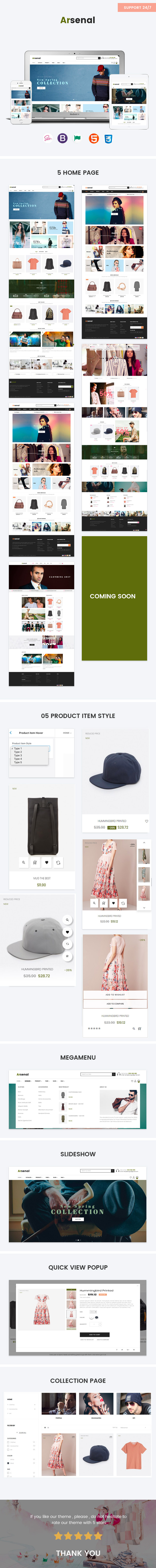 Multi product detail layout page-Leo Arsenal Fashion Prestashop theme for Baby and Kid Store