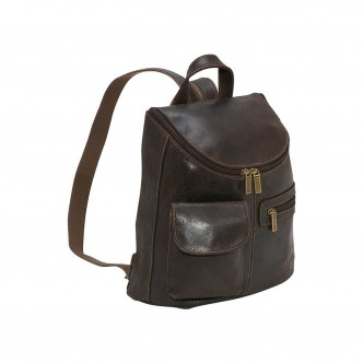 Satchel with pendal detail