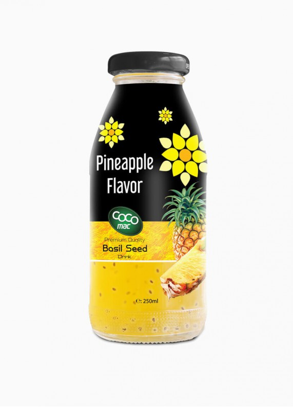 Basil seed with pineapple...