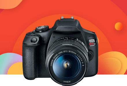 EOS Rebel T7 Camera
