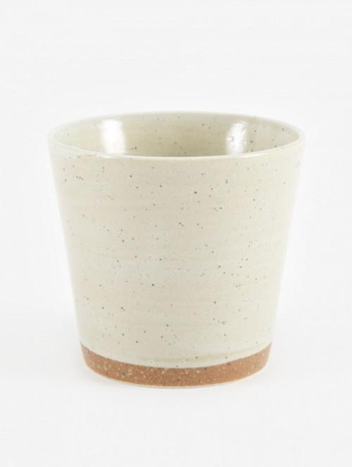 Mug-'GROD'-Stoneware-Sand