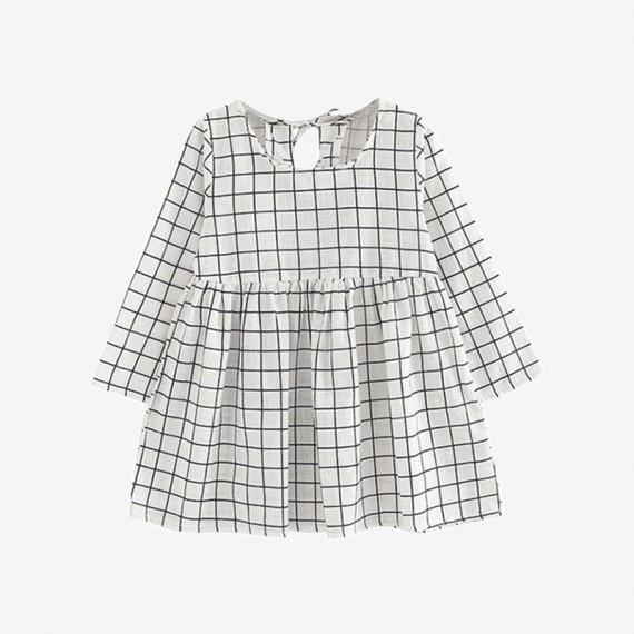 B&W checkered Dress