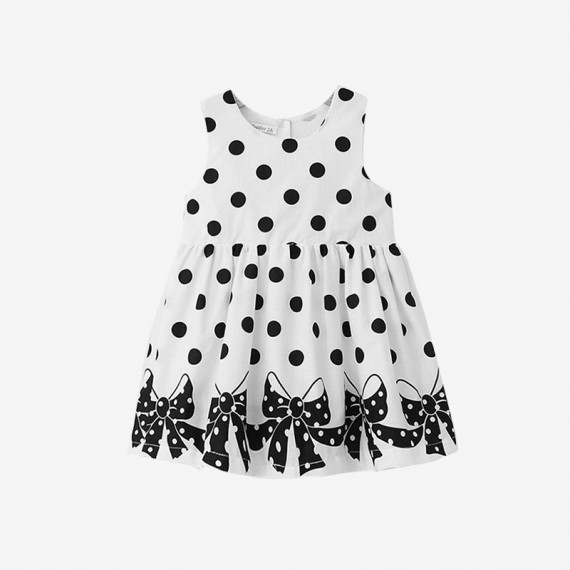 Casual dotted dress