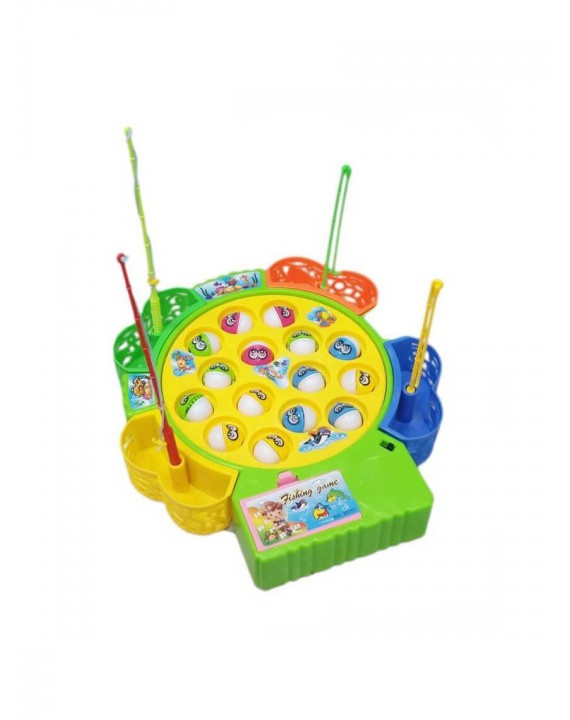 Fishing Game Fish Shape Board