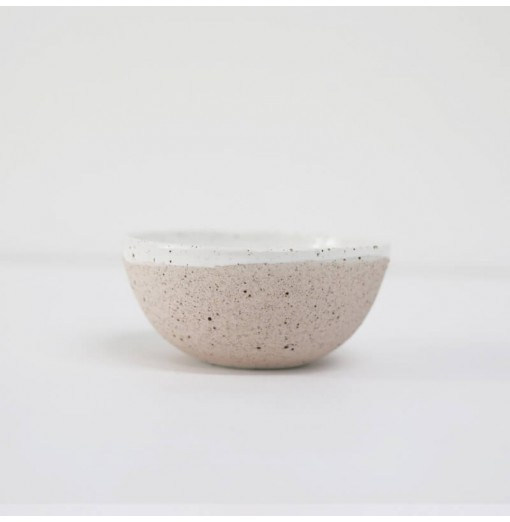 Porcelain textured check bowl