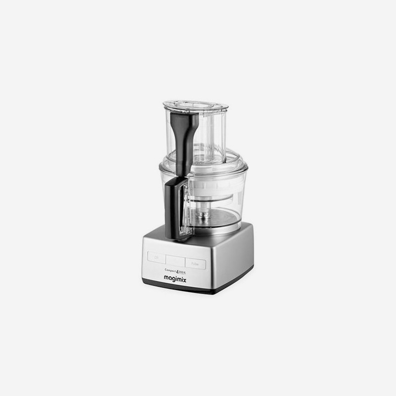food processor matt chrome